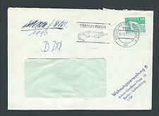 DDR Brief Tierpark Berlin-Friedrichsfelde Wohnungsverwaltung Lichtenberg 1987