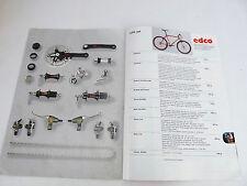 EDCO Bicycle catalog Vintage BIKE Swiss made IGP Magura Brake mtb Road Racing