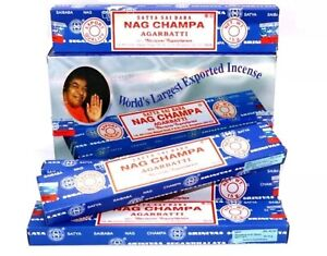 5Packs Original Satya SaiBaba Nag Champa Incense Sticks Joss Insence Genuine🥰🥰