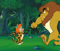 Warner Brothers-Tiny Toons Adventures Original Production Cel/OBG-Elmyra Duff