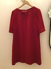 Hobbs Red Dress Size 16