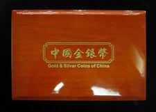 2015 China Gold & Silver Commemorative Panda Coins Set - Bank of Shanghai