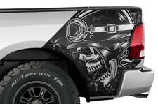 Rear Quarter Panel Graphic Kit Truck Bed Decal for Dodge Ram 1500 09-14 HAVOC