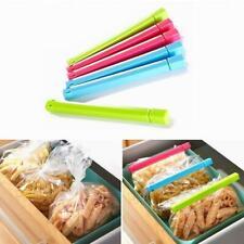 6Pcs Food Snack Seal Sealing Bag Clips Sealer Clamp Kids Kitchen Tool