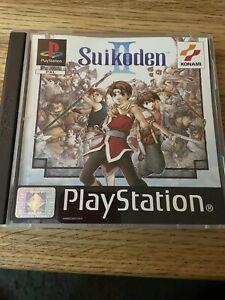 Suikoden II / 2 - Konami Playstation 1 PS1 Game PAL - Complete - Super Rare VGC