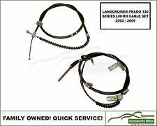 2 Piece LH+RH Hand Brake Cable Set Suit Landcruiser Prado 120 Series 2002-2009