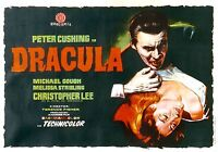 movie film repro Hammer dracula Poster Print A3 This A Poster