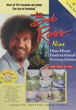 Bob Ross The Joy of Painting Series NINE One Hour DVD Set Instructional Guide TV
