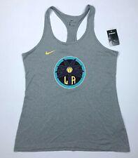 Nike Dri Fit Womens Los Angeles Sparks WNBA Racerback Tank Top Large NWT