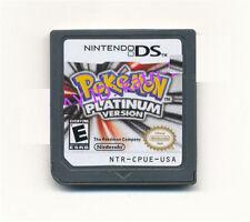 Game Nintendo Pokemon Platinum Version Game Card For 3DS DSI DS NDSI Brand New