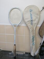 Ascot ceramic Ace Signature squash racquet with original case Vgc