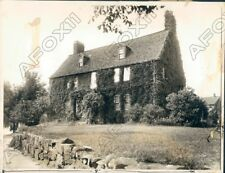 1930 Meford MA the Old Cradock House Built by Capt Peter Tuft 1680 Press Photo