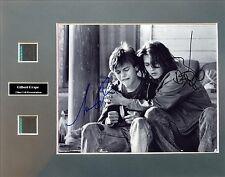 Gilbert Grape Signed Photo Film Cell Presentation