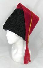 Ukraine Ethno Cossack Hat Real Persian Astrakhan Karakul Lambs Fur l. sable mink
