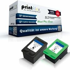2x intercambio cartuchos de tinta para HP Photosmart-C 3180 3185 338 black plus