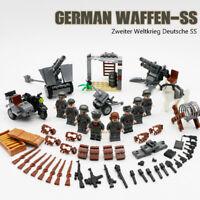 2ter Weltkrieg Deutsche Soldaten Baukasten Set viel Zubehör
