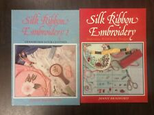 BOOKS:SILK RIBBON EMBROIDERY X 2 AUSTRALIAN WILDFLOWERS & TRANSFORM YOUR CLOTHES