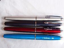 3 Inoxcrom Zeppelin  Fountain pen + rollerball made in Spain advertisers logos