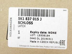 Genuine OEM Volkswagen 5K1-837-015-J Left Door Lock Actuator
