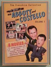 THE BEST OF ABBOTT AND COSTELLO  - VOL. 1 - 8 MOVIES FRANCHISE  - REGION 2/4