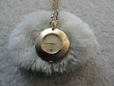 Vintage Wind Up Caravelle Necklace Pendant Watch - Not Working
