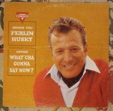 Ferlin Husky Rare Conoco Training LP What Cha Gonna Say Now? Private Strange
