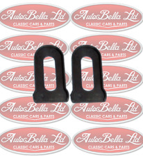 CLASSIC FIAT 500 BUMPER SEAL SPACER GASKET KIT FRONT OR REAR BRAND NEW