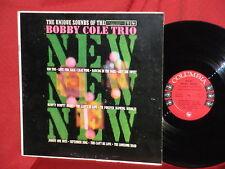 Bobby Cole Trio The Unique Sound Of 6 EYE Columbia MONO LP Record VG++ DG SCARCE