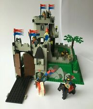 Vintage Lego Castle 6081 ~ King's Mountain Fortress Complete + Instructions