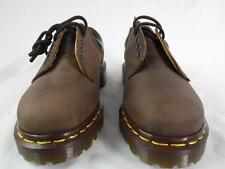 DR MARTENS 8053 GAUCHO CRAZY HORSE BROWN LEATHER PADDED MIE ENGLAND 5 EYE UK 3
