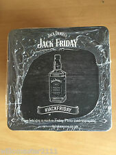Pack of 60 Jack Daniel's Jack Friday Coasters / Beer Mats