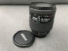 Nikon AF Nikkor 28-105 mm 1:3.4.5 D Zoom Macro Lens VGC