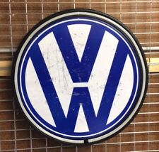 VW VOLKSWAGON 800MM DIAMETER  NEON SIGN PERFECT WITH COMBI GOLF