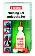 Beaphar Aufzucht Set - Nuckelflasche Bürste+Sauger+Aufzuchtflasche Hund Katze