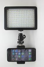 160 LED Video Camera Light for PHONE Camera and DV Camcorder with filters