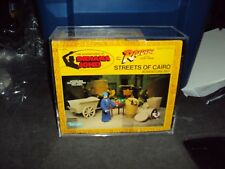 KENNER INDIANA JONES STREETS OF CAIROTHIS SALE IS FOR ACRYLIC CASES ONLY NO TOYS