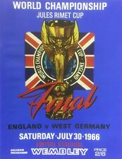 Stunning 1966 World Cup Final Reproduction Programme.