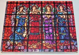 Springbok 500 Piece Puzzle Heavenly Glass Vintage Mission Dolores Basilica