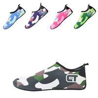 c3c9487fb7129 Water Shoes Kids Comouflage Aqua Shoes Quick Drying Socks Surf Swim Diving  Beach