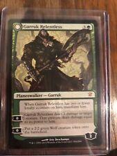 MTG Garruk Relentless x1 LP Innistrad Magic the Gathering
