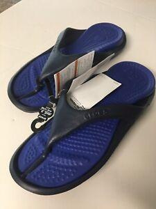 Crocs  Flip Flops / Sandals, Size: Mens 8 / Womens 10, Blue ☆ New