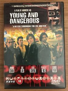 Young and Dangerous DVD Chinese Cantonese Hong Long Gangster Triad Thriller
