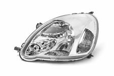 Toyota Yaris MK1 03-05 Headlight Chrome Headlamp Left Passenger Near Side N/S