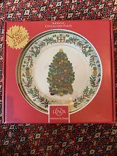 Lenox Christmas Trees Around The World Plate 2013 Jamaica Still In Box!