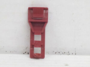 15 Verbinder / Verriegelung, rot, 3,8 cm lang, ohne OVP, 1:24, Carrera