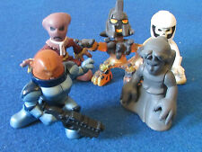 Doctor Who - Lot of 5 Micro Figures - 5 Aliens including Weeping Angel.