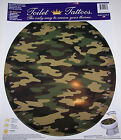 Factory New Toilet Tattoo Bathroom Toilet Decal Camouflage Military Elongated