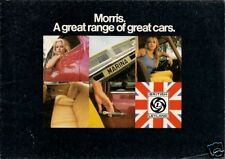 Morris 1972-73 UK Market Sales Brochure Mini Marina 1800 2200