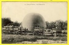 cpa 51 CAMP de CHÂLONS à MOURMELON (Marne) PARC d'AÉROSTATION Ballon Dirigeable