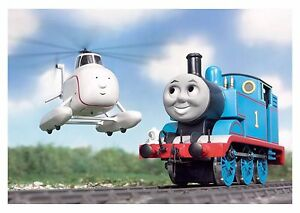 Thomas The Tank Engine - Children's Classic Tv Cartoon Poster / Canvas Pictures